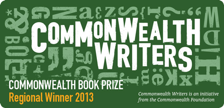 Commonwealth Book Prize regional winner 2013 logo